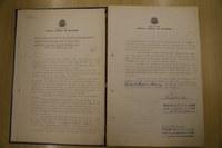 Ata da sessão do Tribunal Federal de Recursos (TFR) que instalou o Conselho da Justiça Federal (CJF), em 24 de agosto de 1966. O CJF foi incorporado como Secretaria naquele Tribunal.