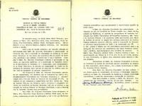 Ata da primeira sessão ordinária do Conselho da Justiça Federal, ocorrida em 5 de outubro de 1966.