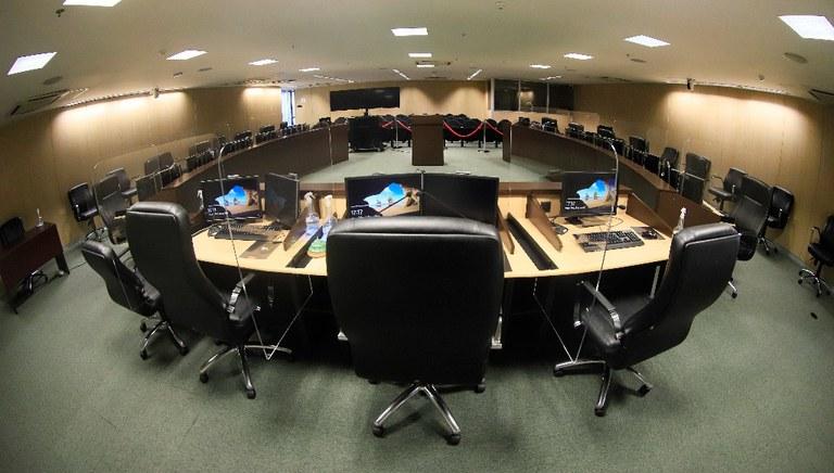 Plenário do Conselho da Justiça Federal.