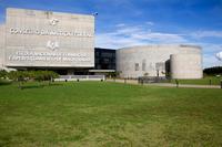 Com projeto arquitetônico de Oscar Niemeyer, as obras da nova sede foram iniciadas em dezembro de 2007 e concluídas em agosto de 2010.