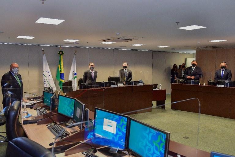 Primeira sessão presidida pelo ministro Humberto Martins