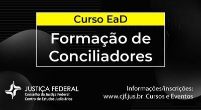 Banner Curso de formação de Conciliadores