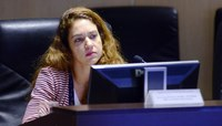 Juíza federal Itália Bertozzi, relatora do processo na TNU  (Foto: STF)