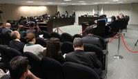 Sessão do Conselho da Justiça Federal, em Brasília (Foto: Edson Queiroz/CJF)