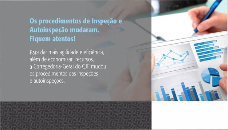Corregedoria-Geral da JF altera procedimentos de autoinspeção e de inspeção