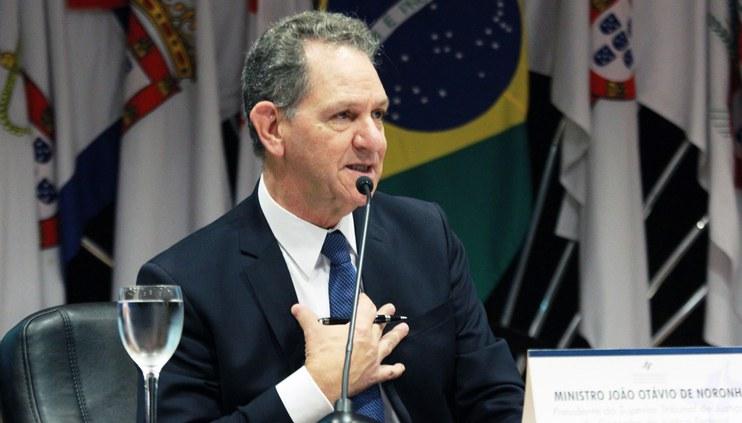 Ministro João Otávio de Noronha assina resolução que cria o Programa de Desburocratização e Simplificação da JF
