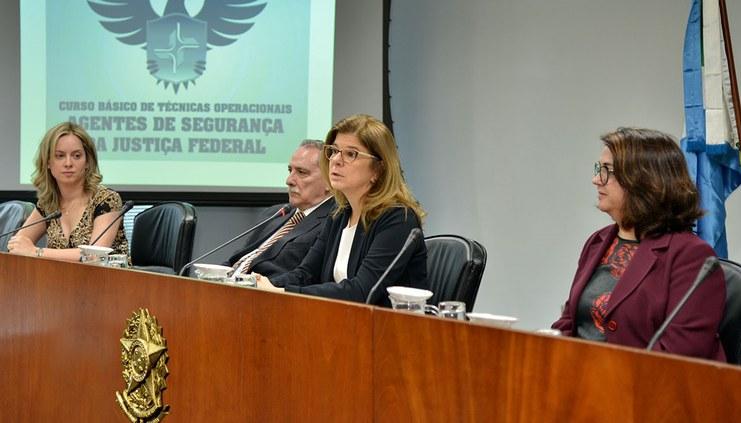 Curso promovido pelo CJF ensina técnicas operacionais a agentes de segurança no TRF3