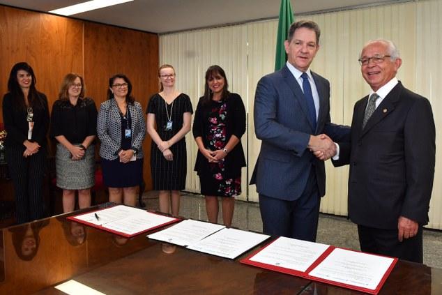 Justiça Federal e do Trabalho assinam acordo de cooperação técnica no âmbito da Gestão de Pessoas
