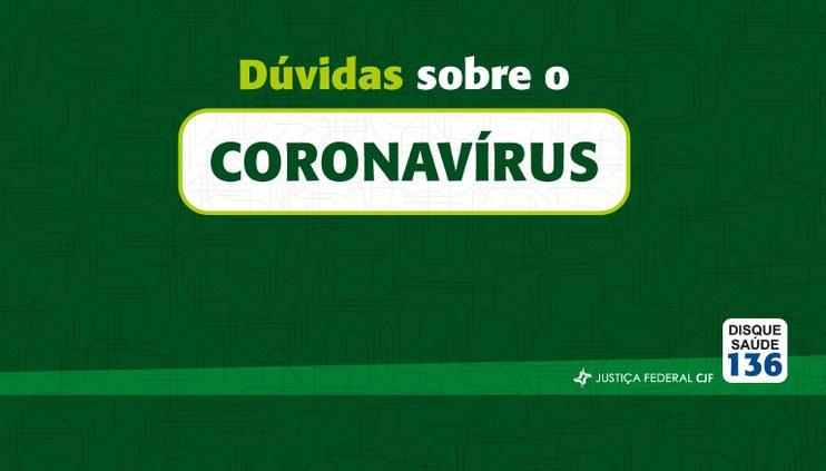 Cartilha virtual esclarece dúvidas sobre o Coronavírus