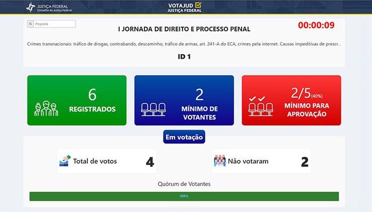 CJF lança sistema de votação on-line de proposições de enunciados para Jornadas de Direito do CEJ