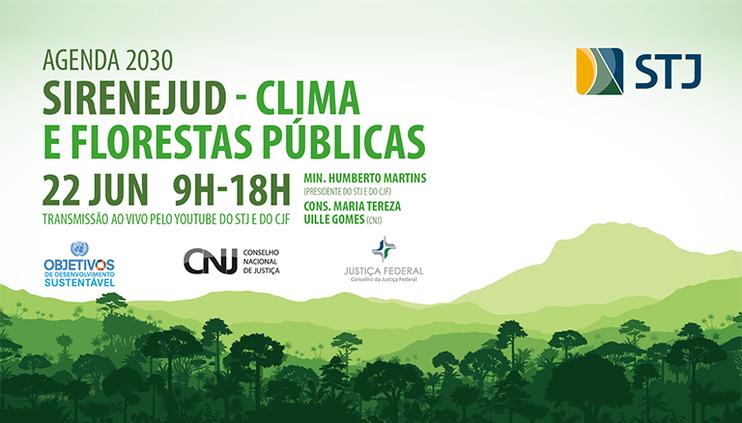 Webinário sobre mudança climática, desmatamento e Agenda 2030 é promovido nesta terça-feira (22)
