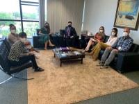 Reunião entre a TNU e a Ascom/CJF